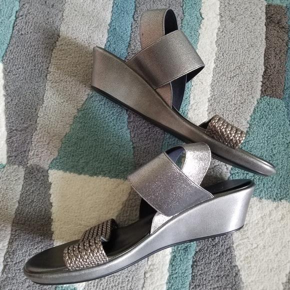 Anyi Lu Shoes - Anyi lu wedge sandals